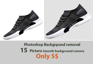 I will removal your  image background professionally and smoothly 15 image only 5$