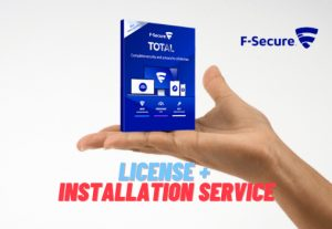 I will install F-Secure antivirus on your pc
