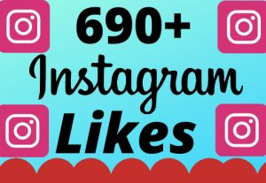 I will add 690+ real and organic  Instagram likes for your business