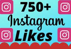 I will add 750+ real and organic  Instagram likes for your business