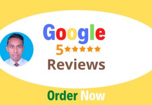 I will provide 8 Google reviews of your target area