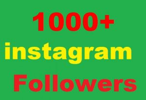 1000+ Instagram Followers Or 1000+ Instagram Post Photo  Likes