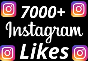 I will add 7000+ REAL AND non drop Instagram likes