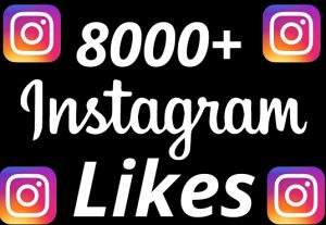 I will add 8000+ REAL AND non drop Instagram likes