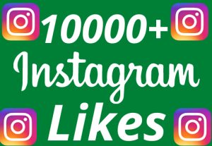 I will add 10000+ REAL AND non drop Instagram likes