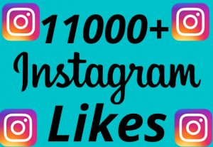 I will add 11000+ REAL AND non drop Instagram likes