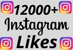 I will add 12000+ REAL AND non drop Instagram likes