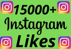 I will add 15000+ REAL AND non drop Instagram likes