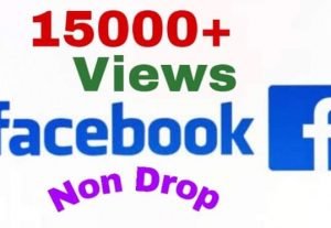 I will provide 15000+ views on facebook instantly !!!
