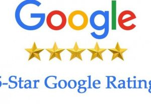 10 Google High Quality Five star Reviews in 12