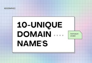 I will create unique domain names for your company