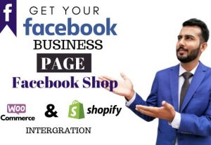 I will create seo optimize facebook business page, fb shop, fan page
