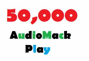 Add 50,000 AudioMack Plays Promotion To Your Track On Artist