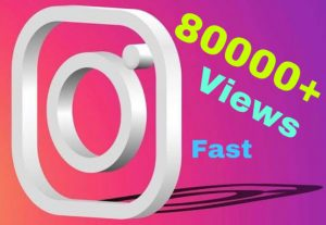 Get 80000+ Views on Instagram video post instantly! 100% Non Drop.