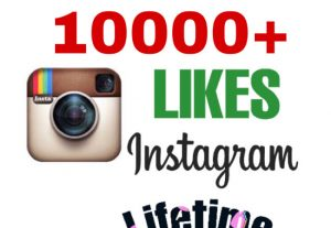 Get 10000+ Likes on Instagram Post ! Instant start and fast delivery & Non Drop.