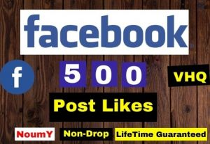 ADD 500+ FACEBOOK POST LIKES INSTANT