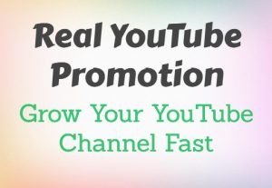 Real YouTube Promotion Services