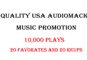USA Audiomack Music Promotion for 6