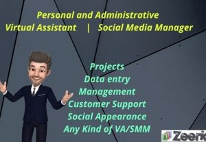 I will be your expert virtual assistant for any administrative task