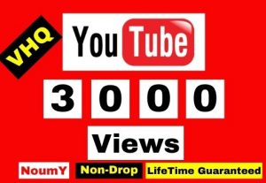 GET 3000+ YOUTUBE VIDEO VIEWS WITH 200 LIKES FREE