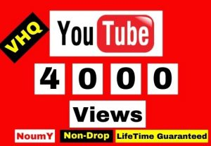 GET 4000+ YOUTUBE VIDEO VIEWS WITH 200 LIKES FREE