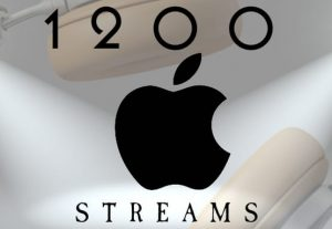 Get your 1200+ Apple viral music streaming promotion.