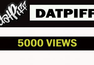 5000 Datpiff views Safe and Nondrop promotion