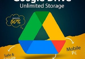 Google Drive Unlimited Storage ✨ Life Time ✨ New Account / Not upgrade