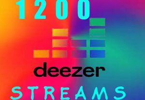 Acquire 1200+ Deezer viral music streaming promotion.