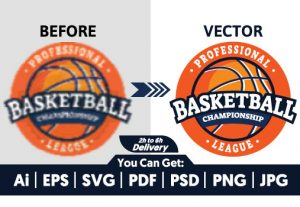 I will do vectorize, redraw, update, edit, fix and trace logo