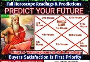 I will do extensive vedic astrology reading of your natal birth chart