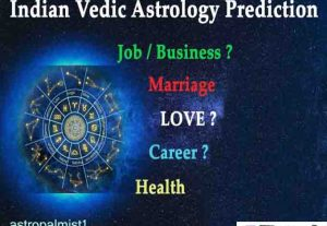 I will predict your future based on vedic astrology