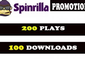 Spinrilla 200 plays with 100 downloads