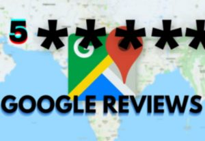 Get 5 Google Map Verified Customer Reviews From Your Targeted Area