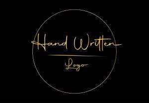 I will design a hand written signature logo