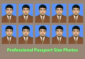 I will make professional passport size photos or pictures