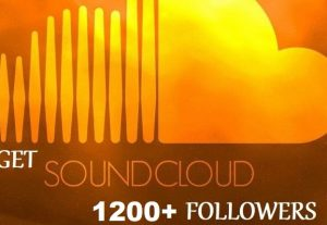 get 1200+ SoundCloud Organic and Real Followers instant, Non-drop