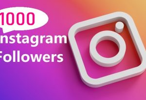 Give You 1000+ Instagram followers  Instant, Active User, Non-Drop