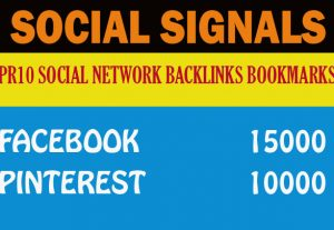 25,000 Mix Social Signals Google First Page Ranking Help To Increase Website Traffic Bookmark