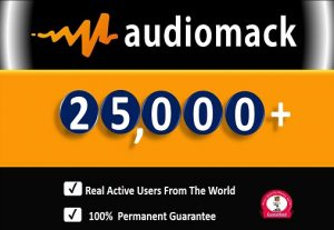 Get 25,000+ Audiomack ORGANIC Plays From HQ Account. Permanent Guaranteed