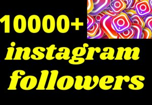 10000+ instagram followers organic and real non dropand fast dalivrey