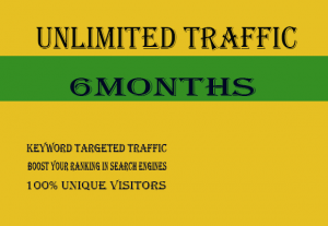 150-400 Daily UNLIMITED KEYWORD TARGETED TRAFFIC