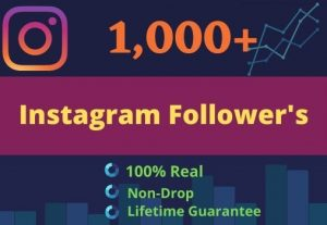 Promote Your Instagram For 1000 Followers & 200 likes | GUARANTEE SERVICE