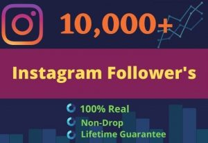 Promote Your Instagram For 10000 Followers 250 Likes & 20 Comments| GUARANTEE SERVICE