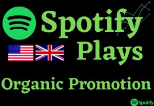 Add more than 25000 plays to your song on Spotify & 250 Listeners