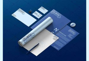 I will design modern minimalist business cards, letterhead & complete corporate identity for you