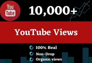 Get 10000 Youtube Views and 50 comments, Organic views Non-drop, and Lifetime guarantee