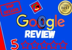 I WILL GIVE YOU 5 PERMANENT GOOGLE REVIEWS (NON DROP)
