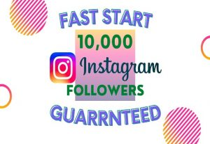 I will Add 10K Instagram Followers Instantly, High Quality & Non-Drop Guaranteed