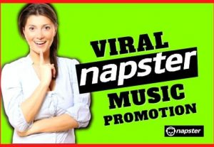 I will do viral 200M Napster promotion